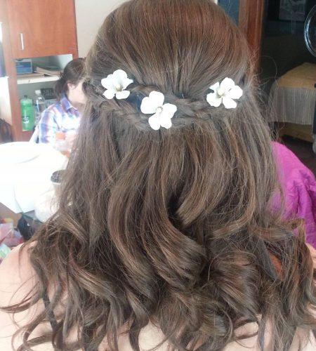 Breckenridge wedding hair and makeup