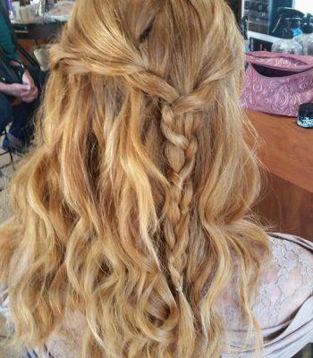 Frisco Wedding hair style