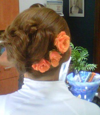 Breckenridge wedding hair style