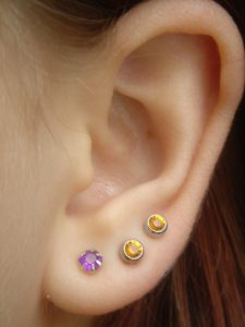 Breckenridge ear piercing