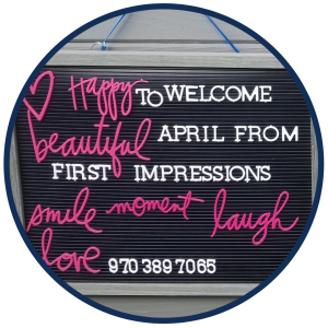 First Impressions Salon April Inside The Image Shop